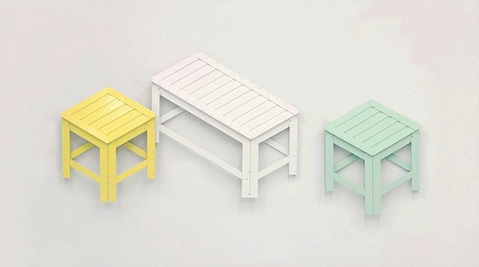Плоская мебель