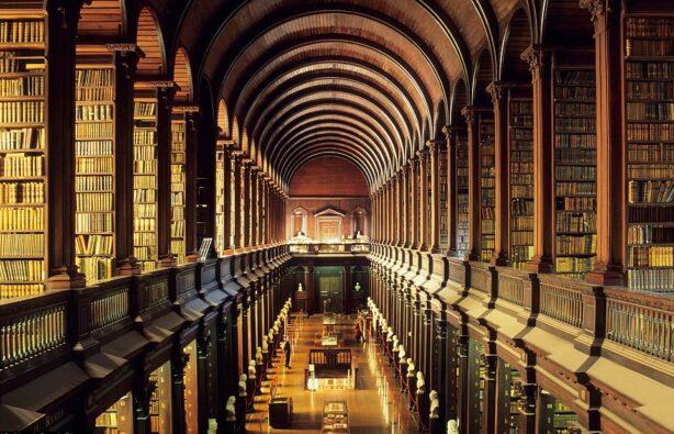 Библиотека в Тринити-колледже