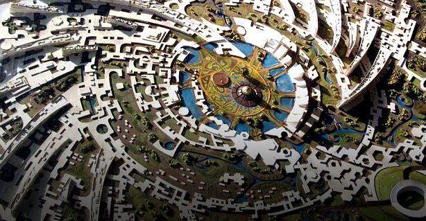 Ауровиль город-утопия в Индии