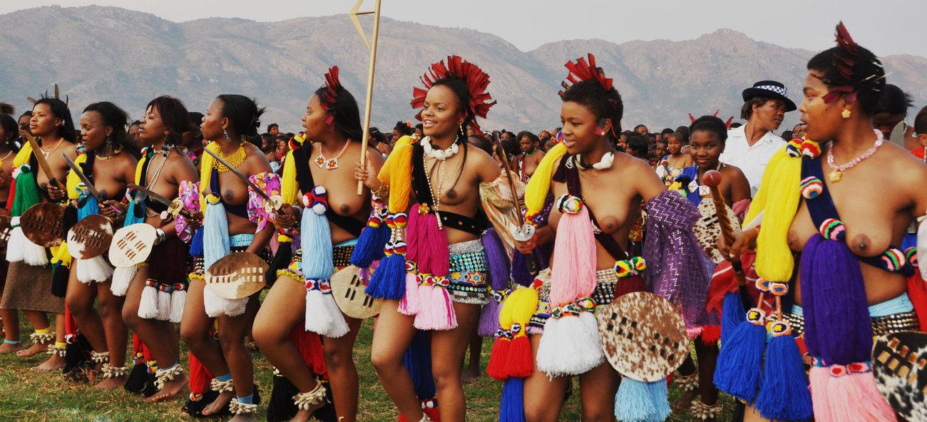 Как король Свазиленда выбирает себе невесту
