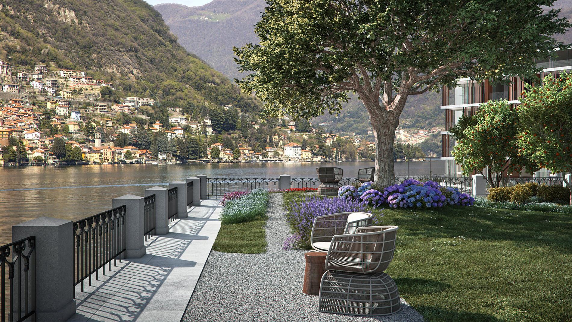 На озере Комо откроется новый бутик-отель Il Sereno.Вокруг Света. Украина