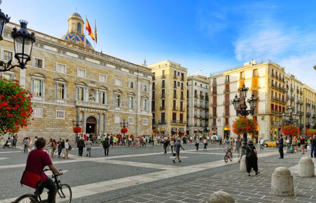 Здания правительства Каталонии