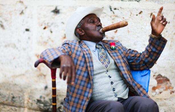 кубинец с сигарой