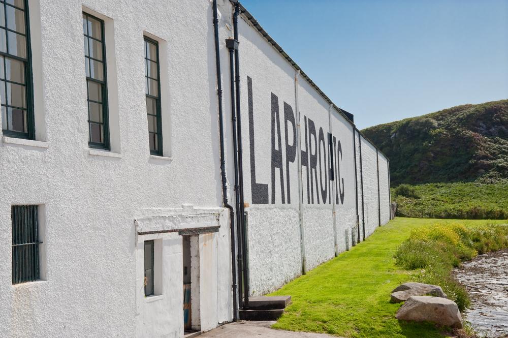 Вискикурня Laphroaig на Айлей, Шотланди