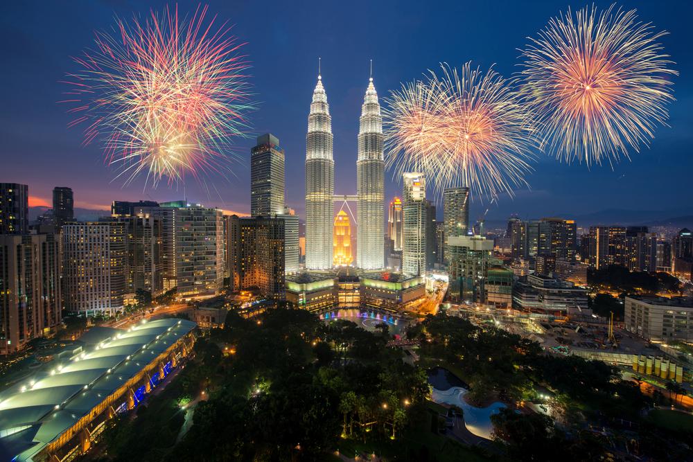Hari Merdeka в Малайзии