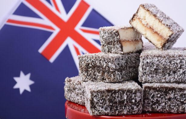 Десерт Ламингтон Австралия