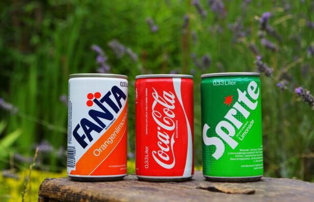 Fanta, Coca-Cola, Sprite