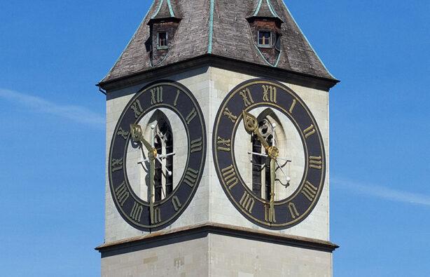 Часы в Цюрихе