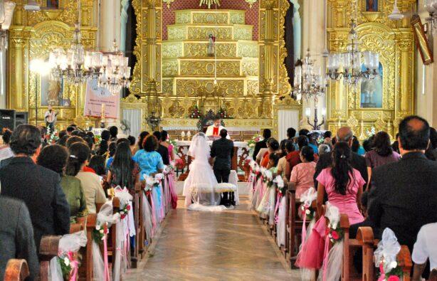 Католическая свадьба в Гоа