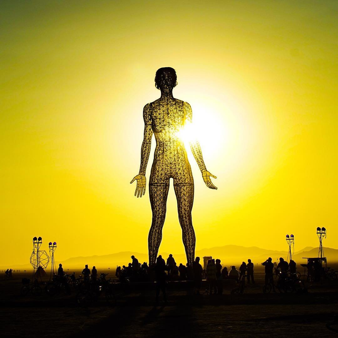 Burning Man сгорел.Вокруг Света. Украина