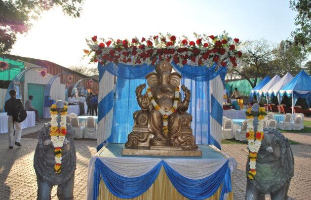 Ганеша – покровитель браков. Его образ неизменно присутствует на любой индуистской свадьбе