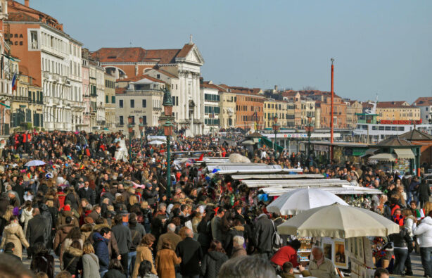 Венеция, туристы