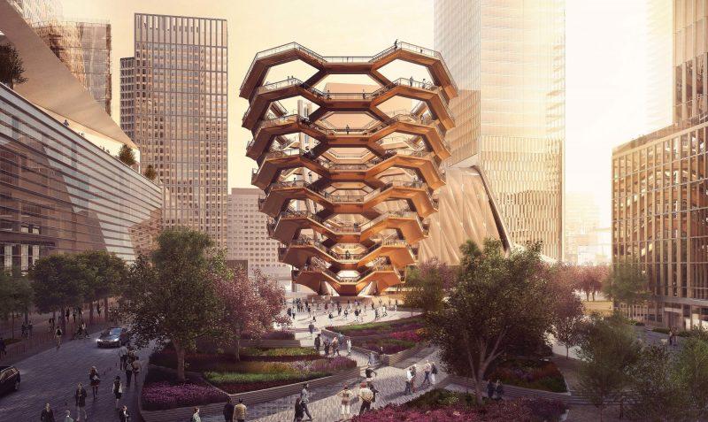 В Нью-Йорке построят «бесконечную» лестницу.Вокруг Света. Украина