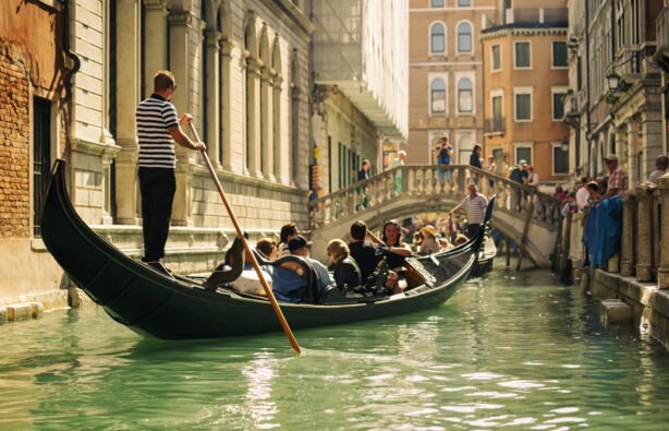 Венеция, Италия, гондола