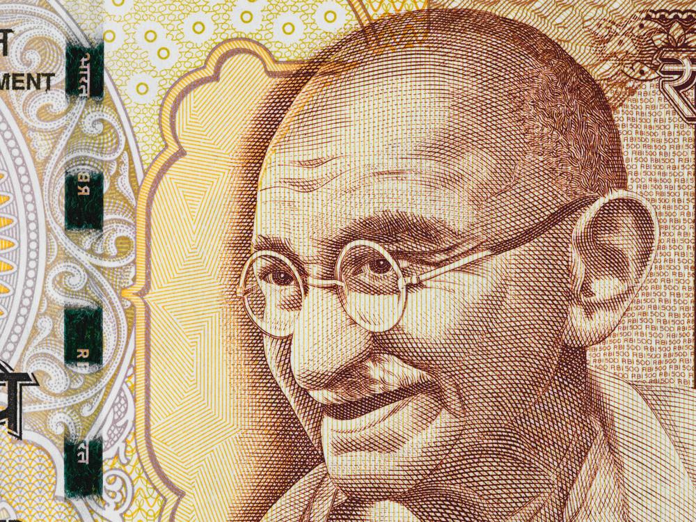 День рождения Махатмы Ганди в Индии