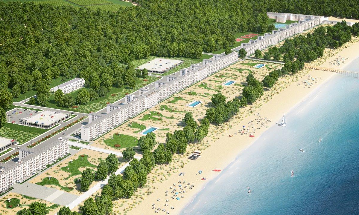 Недостроенный нацистский санаторий превращается в роскошный курорт.Вокруг Света. Украина