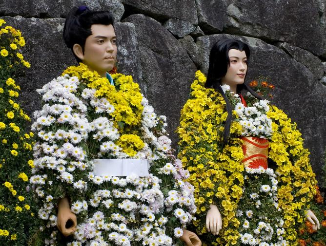 День хризантем в Японии