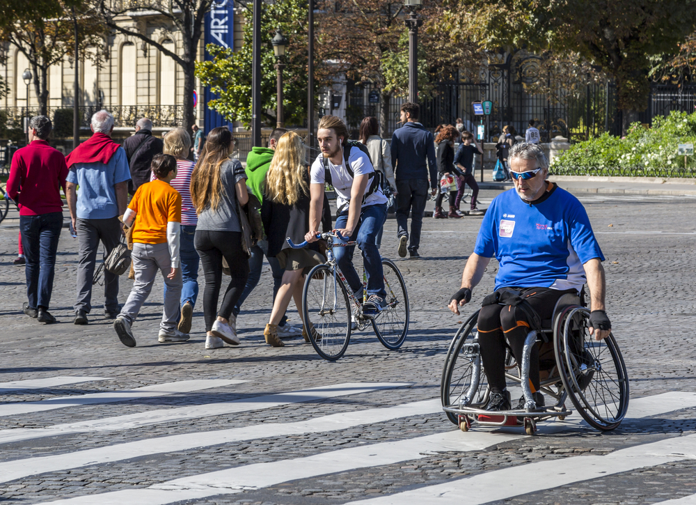 Центр Парижа стал пешеходным.Вокруг Света. Украина