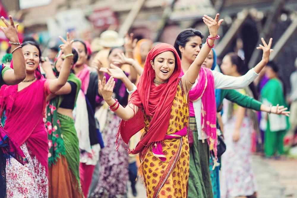 Фестиваль Тидж в Непале