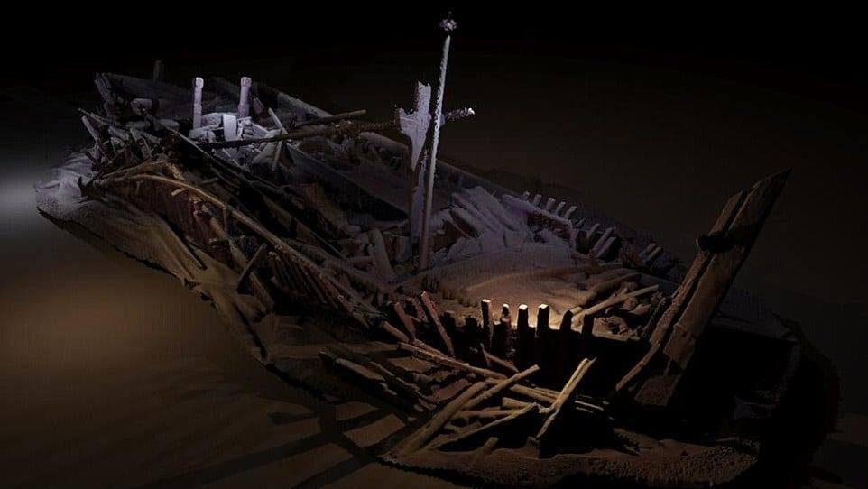 На дне Черного моря обнаружили старинные корабли.Вокруг Света. Украина