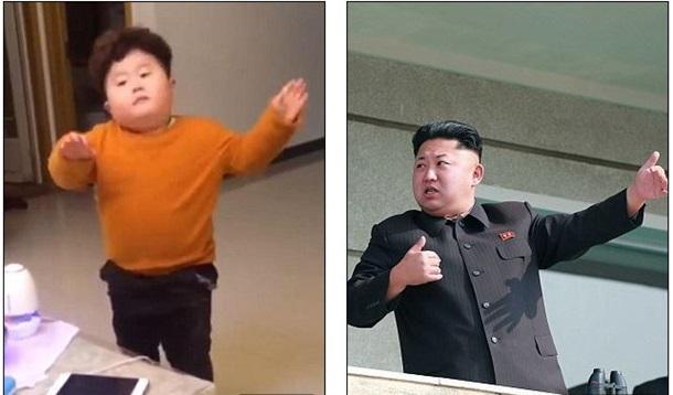 Мини-копия Ким Чен Ына