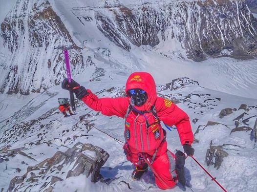 Первая украинка, покорившая Эверест