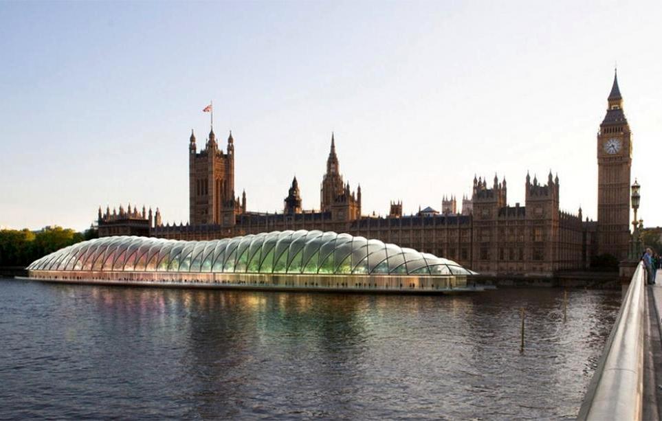 Парламент Великобритании покинет Вестминстерский дворец