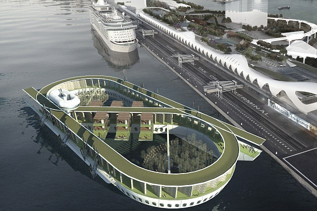 В Гонконге собираются построить плавучее кладбище