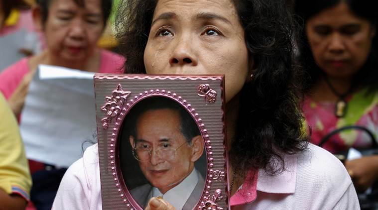 Проводы короля Таиланда