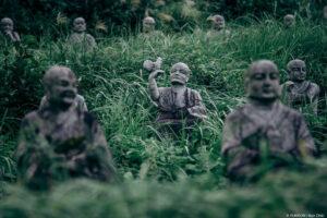 В Японии обнаружили парк с 800 человеческими скульптурами