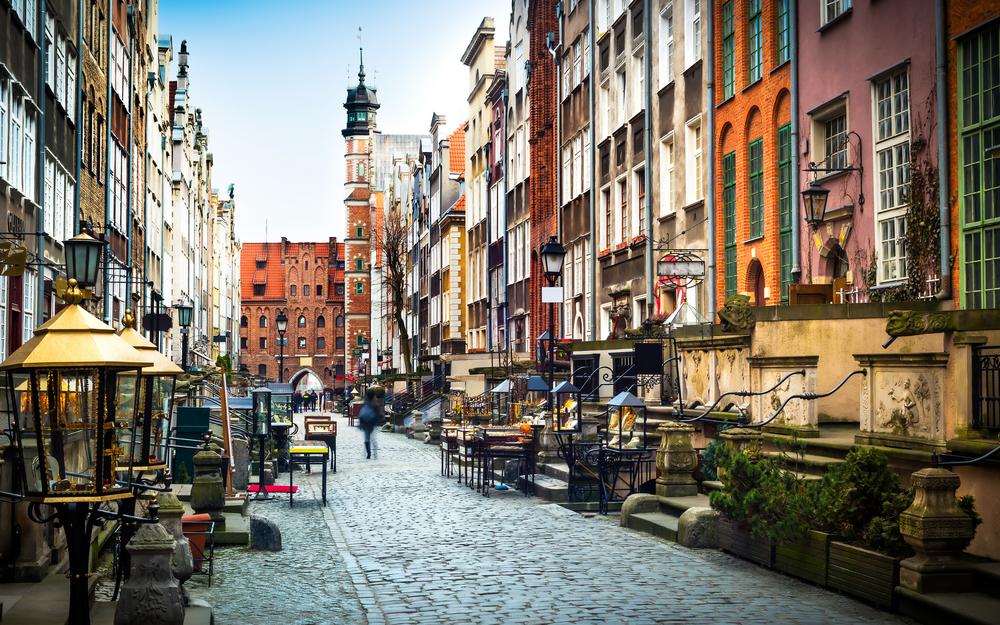 Балтийское золото: янтарный Гданьск