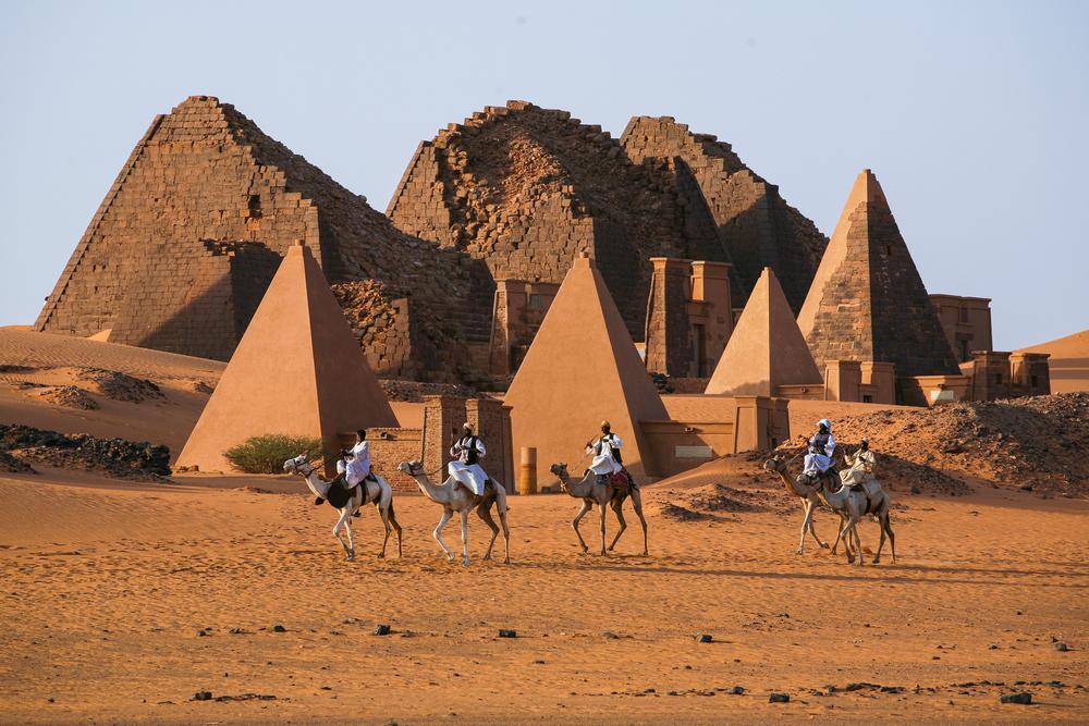 Наибольшее количество пирамид не в Египте