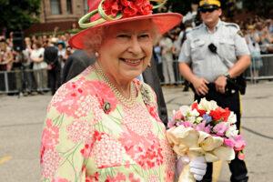 Королева и 12 американских президентов