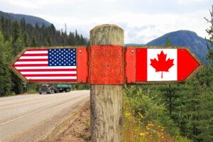 Американцы готовы иммигрировать в Канаду после выборов