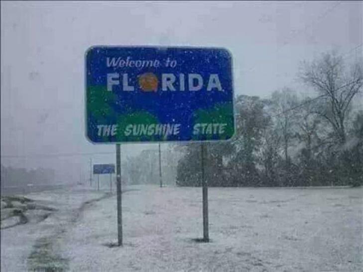 Когда снег - экзотика