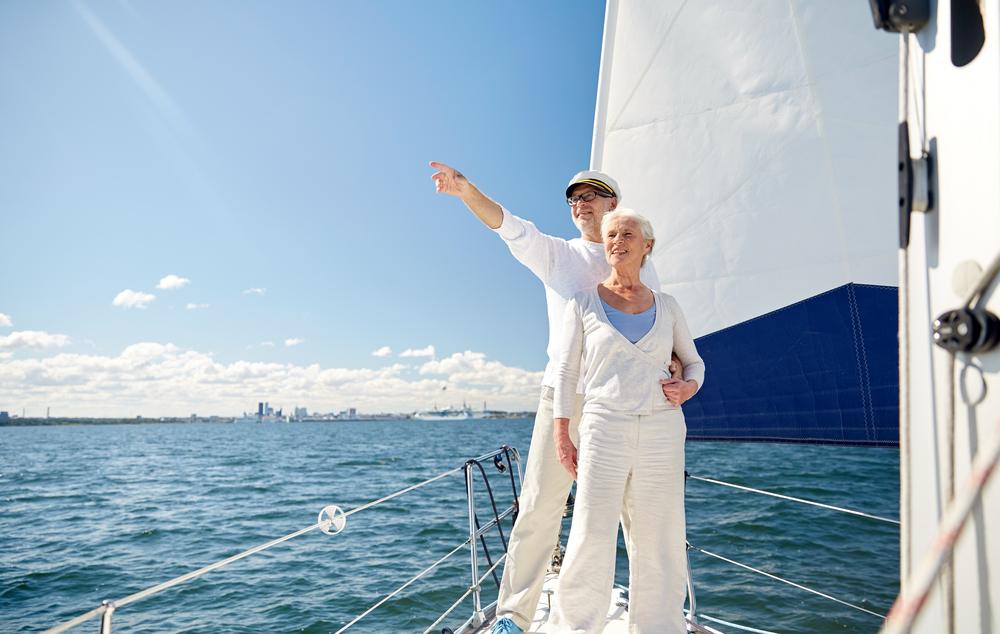 На пенсию в море.Вокруг Света. Украина