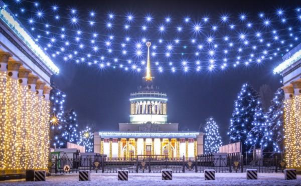 Зима на ВДНГ: что будет в парке развлечений.Вокруг Света. Украина