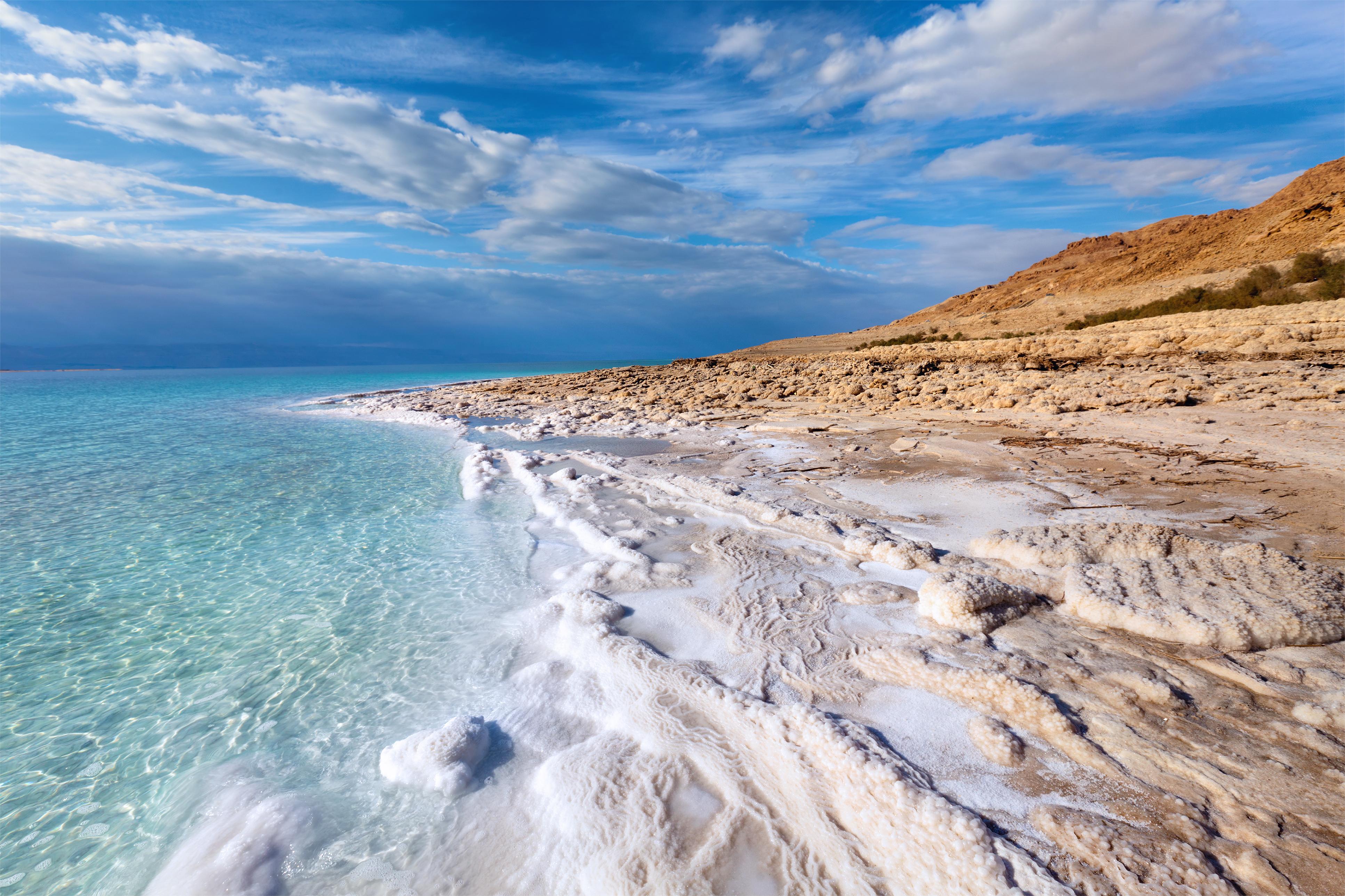 Мертвое море уменьшается в объеме.Вокруг Света. Украина