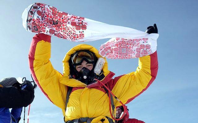 В Киеве состоится встреча с украинкой, покорившей Эверест.Вокруг Света. Украина