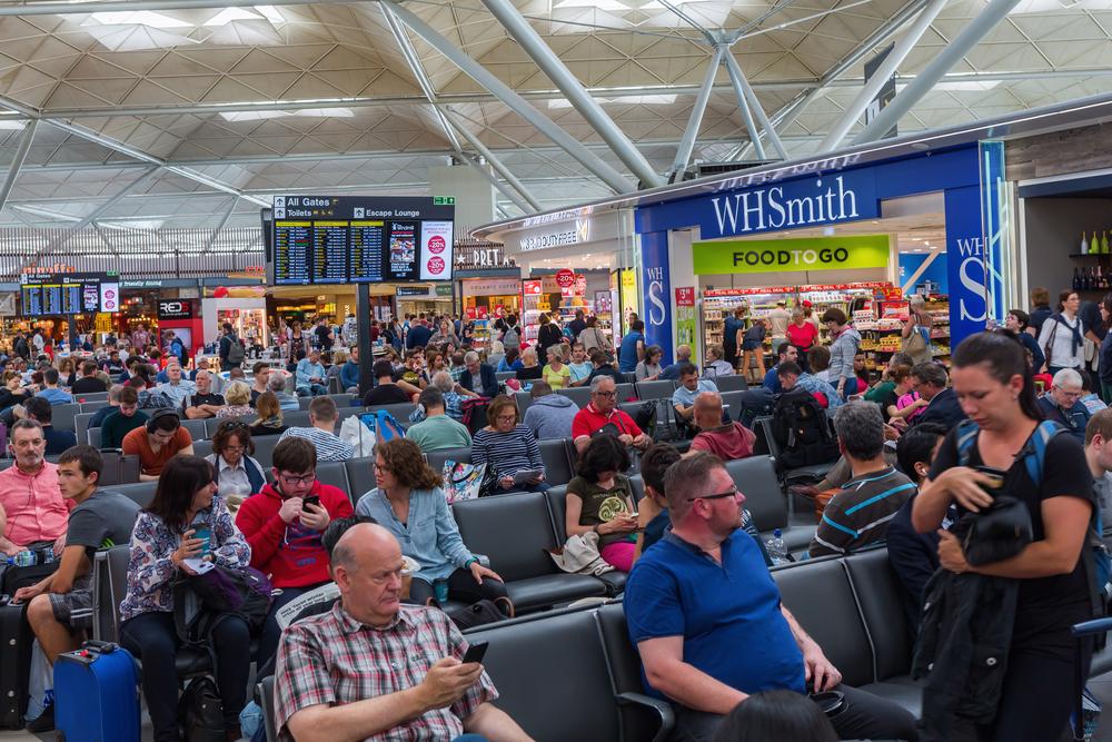 Аэропорты Великобритании бьют рекорды по количеству пассажиров