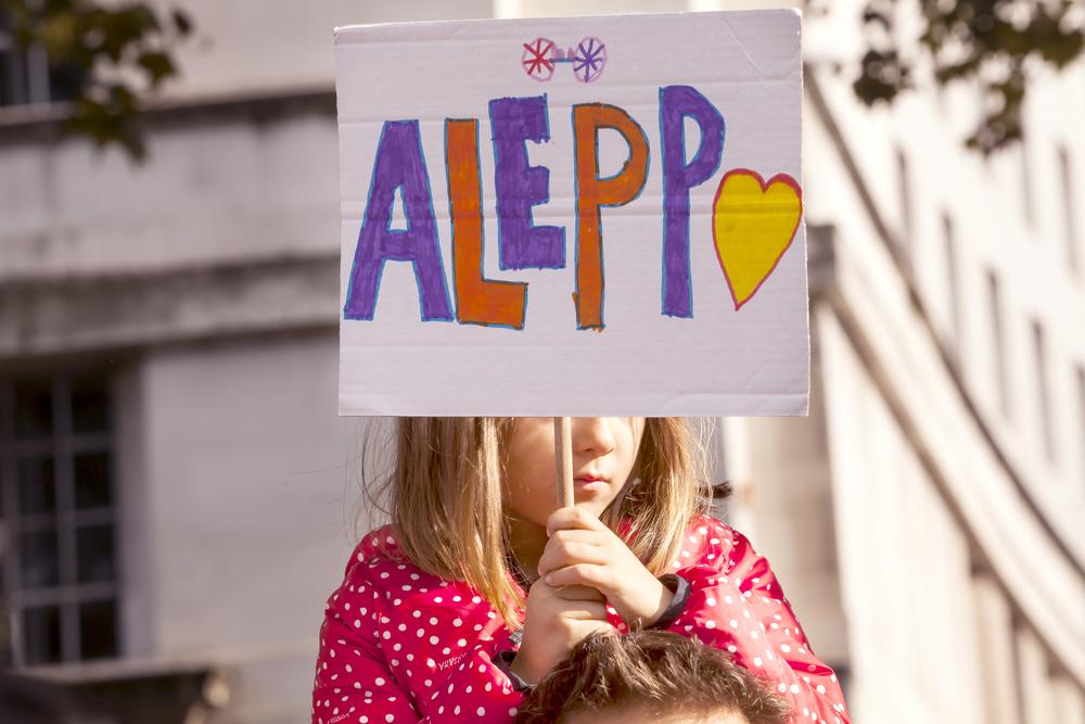 Знаменитый Старый город в Алеппо изуродован войной