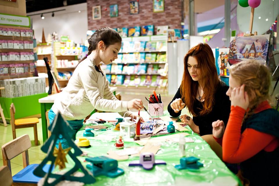 Мастер-классы и товары для творчества в гипермаркете ArtMart.Вокруг Света. Украина