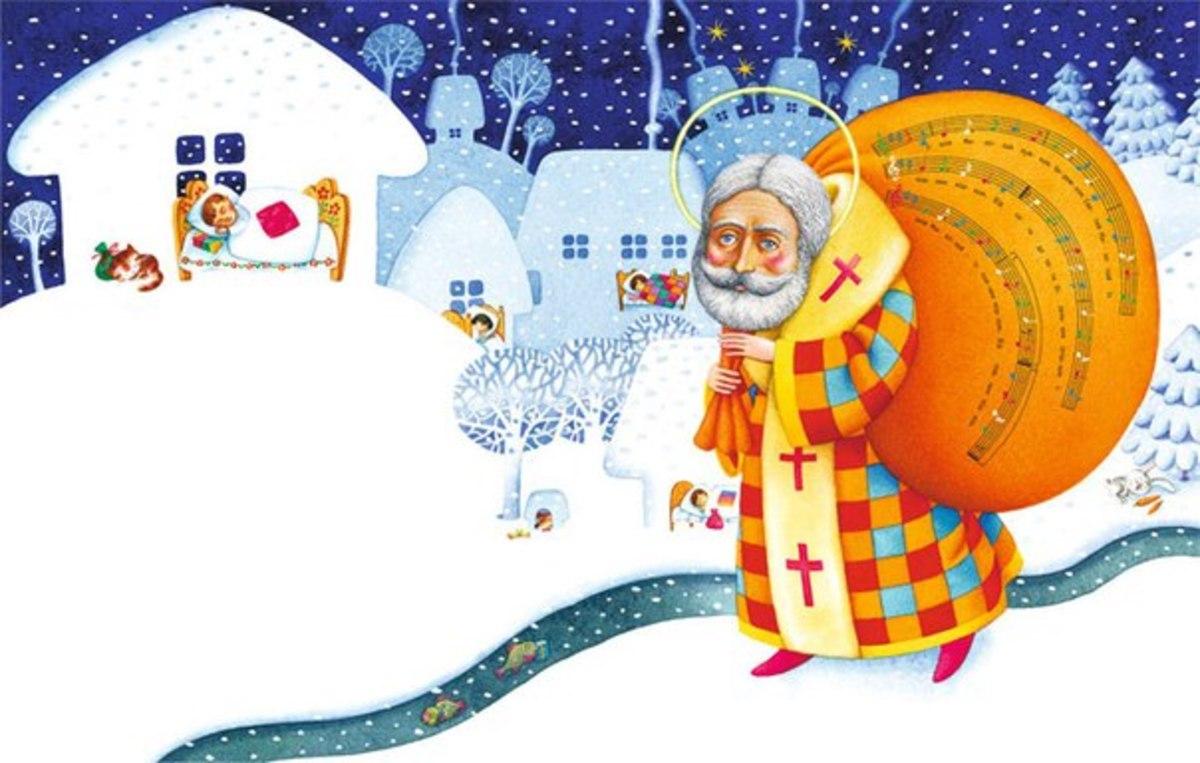 Святий Миколай: захисник нужденних і покровитель дітей.Вокруг Света. Украина