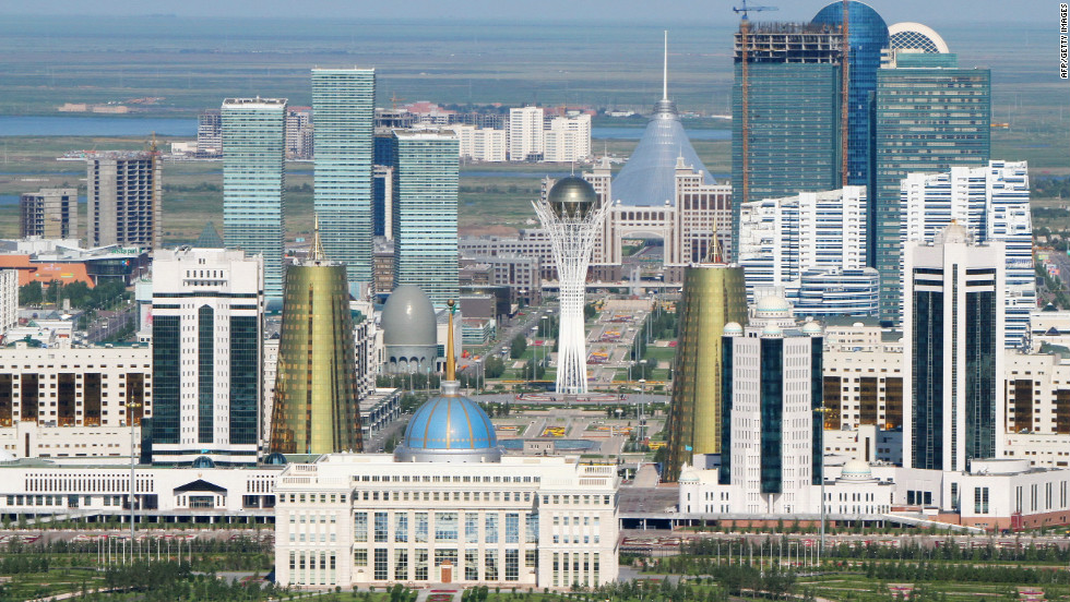 Астана подобна миражу.Вокруг Света. Украина