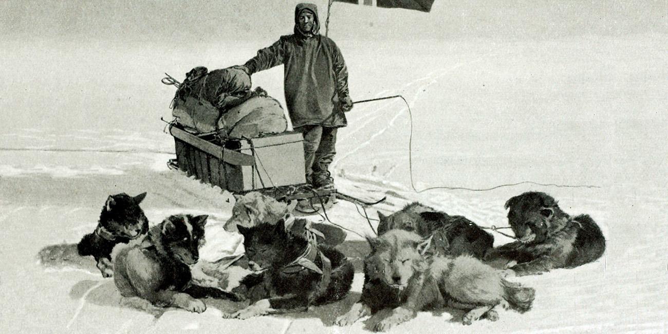 Как человек впервые покорил Южный полюс