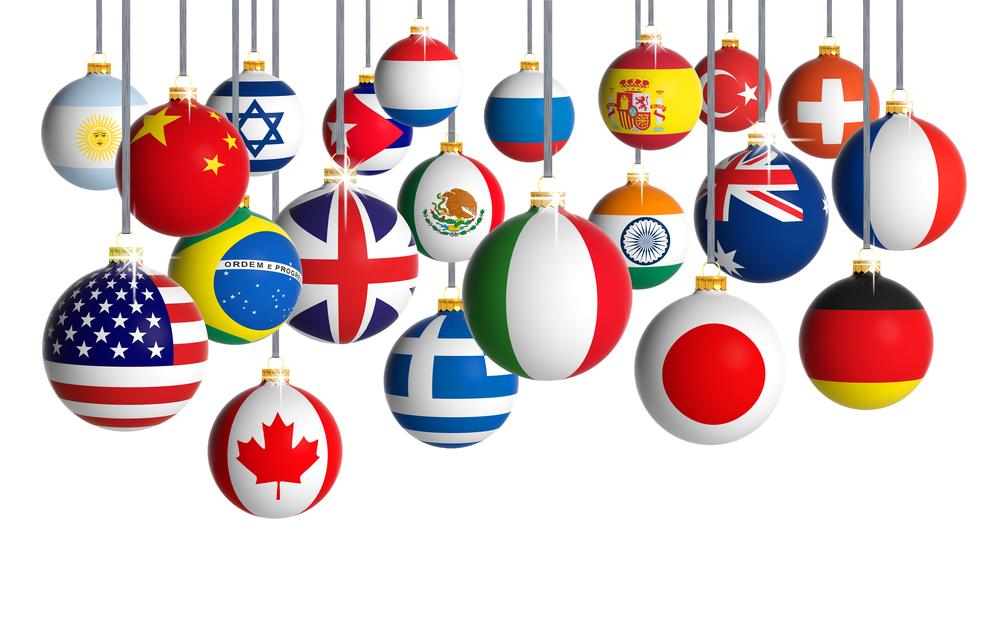 В разных странах - разный Новый год.Вокруг Света. Украина