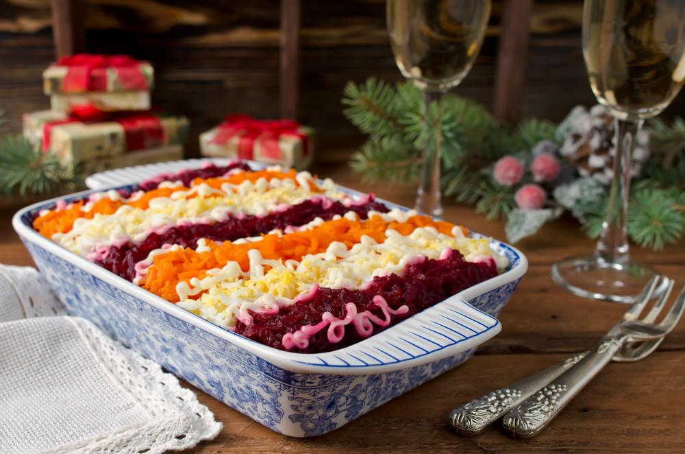 CNN назвали шубу самым экзотическим новогодним блюдом.Вокруг Света. Украина