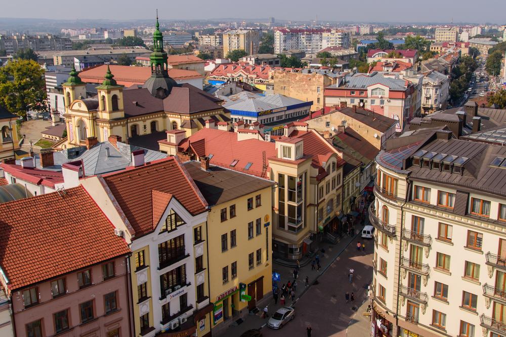 Тепле місто Івано-Франківськ