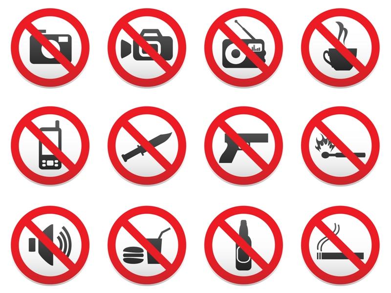 10 самых нелепых запретов в мире