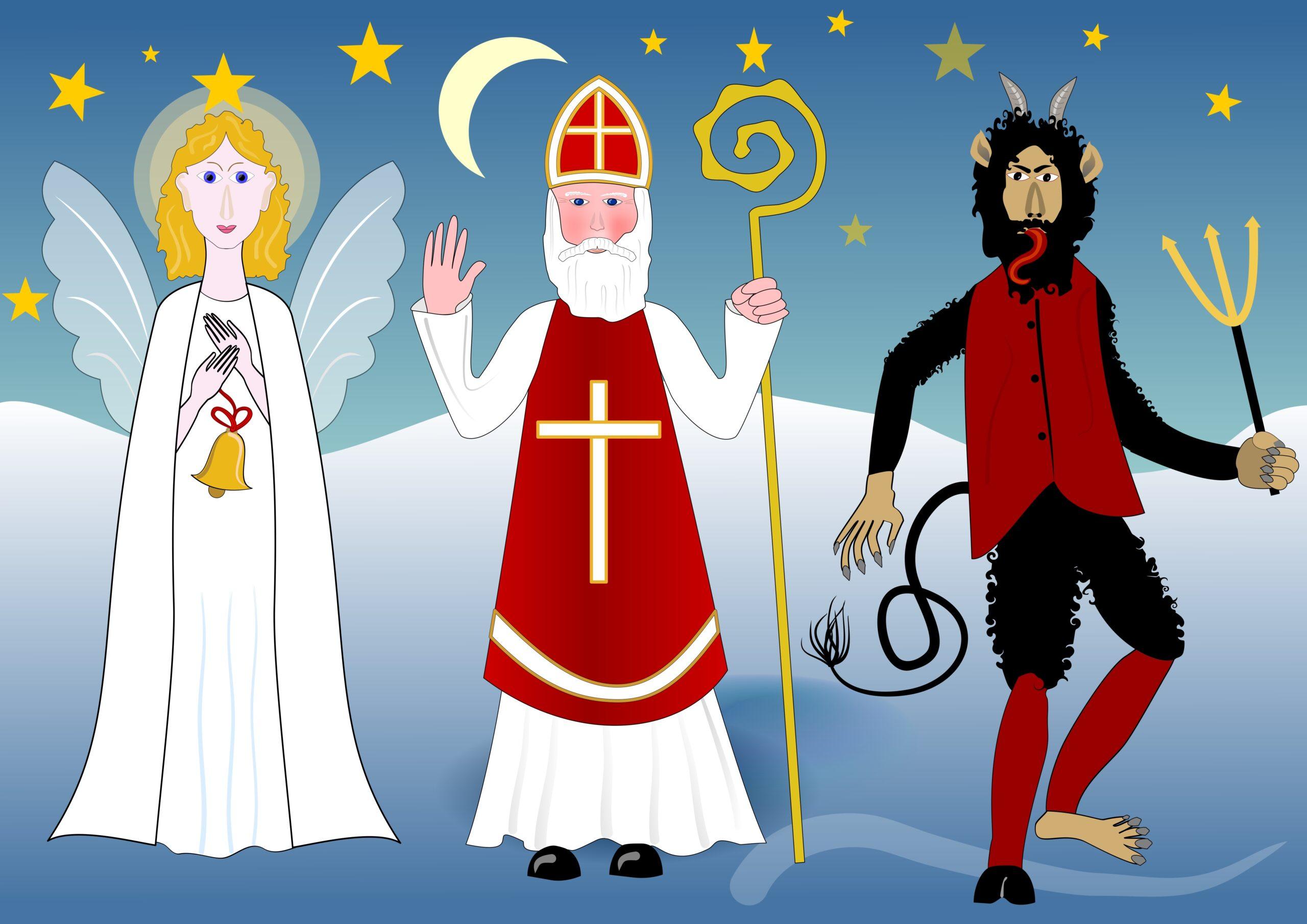 Кто сопровождает Святого Николая?.Вокруг Света. Украина